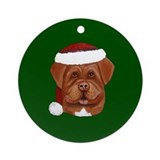 Dogue de Bordeaux Ornament (Round)