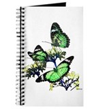Green Butterfly Journal