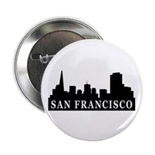 "San Francisco Skyline 2.25"" Button (10 pack)"