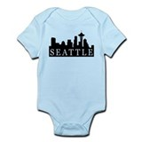 Seattle Skyline Infant Bodysuit