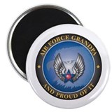 "Air Force Grandpa 2.25"" Magnet (100 pack)"