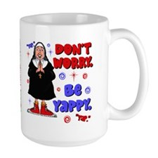 Don't Worry Be Yappy Mug