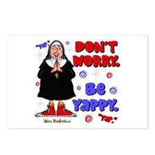 Don't Worry Be Yappy Postcards (Package of 8)