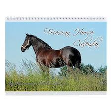 Friesian Horse Calendar 2014