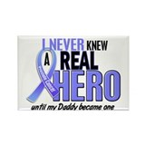 Never Knew A Hero 2 LT BLUE (Daddy) Rectangle Magn