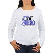Never Knew A Hero 2 LT BLUE (Daddy) T-Shirt