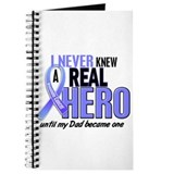 Never Knew A Hero 2 LT BLUE (Dad) Journal