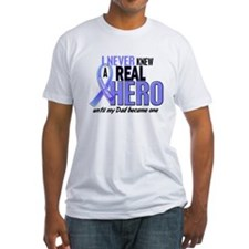 Never Knew A Hero 2 LT BLUE (Dad) Shirt
