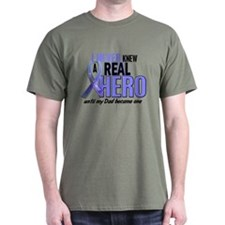 Never Knew A Hero 2 LT BLUE (Dad) T-Shirt