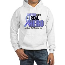 Never Knew A Hero 2 LT BLUE (Dad) Hoodie