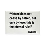 Buddha Stop Hatred Quote Rectangle Magnet