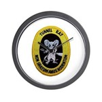 Tunnel Rat Wall Clock