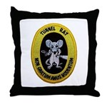 Tunnel Rat Throw Pillow