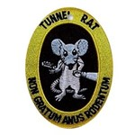 Tunnel Rat Oval Ornament