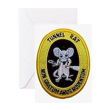 Tunnel Rat Greeting Card