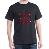 Valentine Feb. 14th Birthday T-Shirt