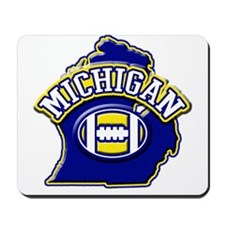 Michigan Football Mousepad