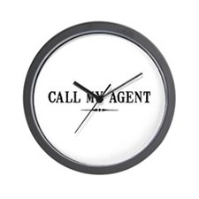 Call My Agent Wall Clock