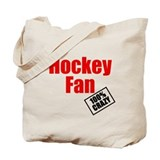 crazy hockey fan Tote Bag