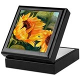 Sunflower II Keepsake Box