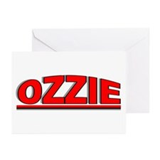 """""""Ozzie"""" Greeting Cards (Pk of 10)"""
