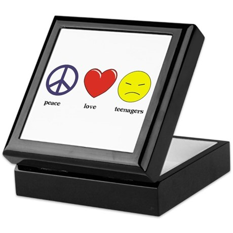 Teenagers Keepsake Box