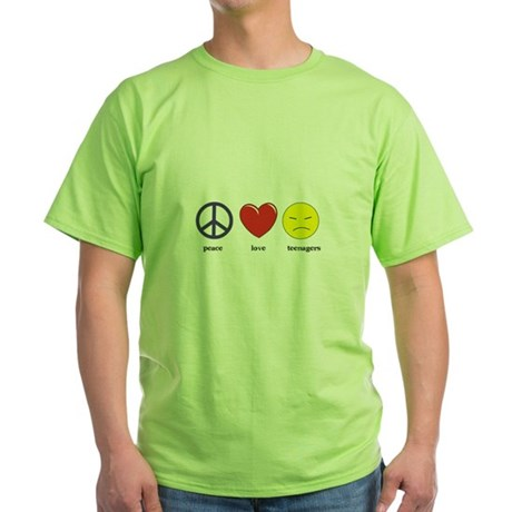 Teenagers Green T-Shirt