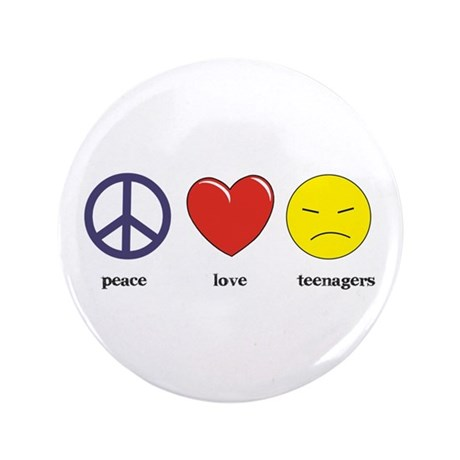 "Teenagers 3.5"" Button"