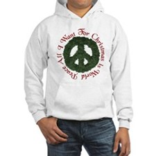 Christmas World Peace Hoodie