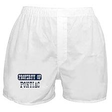 Property of Pontiac Boxer Shorts