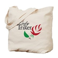 Lady Triker 1 Tote Bag