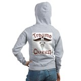 Trauma Queen, ER Nurse Zipped Hoody