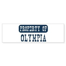 Property of Olympia Bumper Sticker (10 pk)