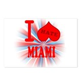 I No Heart Miami Postcards (Package of 8)