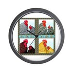 Cochins! Wall Clock