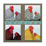 Cochins! Tile Coaster