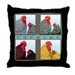 Cochins! Throw Pillow