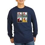 Cochins! Long Sleeve Dark T-Shirt