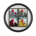 Cochins! Large Wall Clock