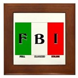 Full Blooded Italian Framed Tile