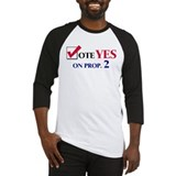 Vote YES on Prop 2 Baseball Jersey