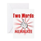 Cool Milwaukee Greeting Card