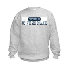 Property of US Virgin Islands Sweatshirt