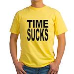 Time Sucks Yellow T-Shirt