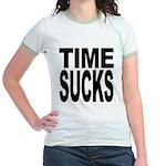 Time Sucks Jr. Ringer T-Shirt