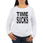 Time Sucks Women's Long Sleeve T-Shirt