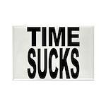 Time Sucks Rectangle Magnet (100 pack)