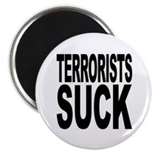 "Terrorists Suck 2.25"" Magnet (100 pack)"
