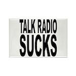 Talk Radio Sucks Rectangle Magnet