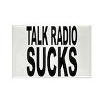 Talk Radio Sucks Rectangle Magnet (10 pack)